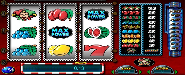 Automaty zdarma online Max Power Turbo Gold