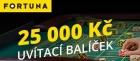Online casino Fortuna Vegas nabízí uvítací bonus 25 000 Kč pro nové hráče