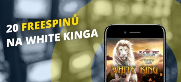 Fortuna Vegas casino: 20 free spinů na automat White King